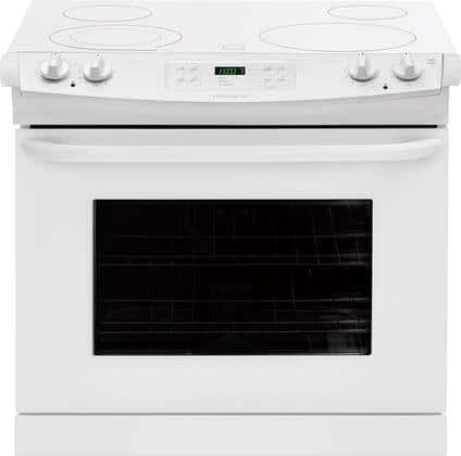 Frigidaire FFED3025PW 30 Inch Drop-In Electric Range in White $599 + Free Shipping