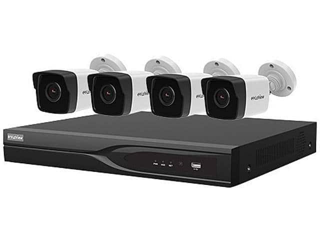 LaView 8 Channel DVR Security System with 4x Ultra HD 4K Cameras - $199.99 + FS
