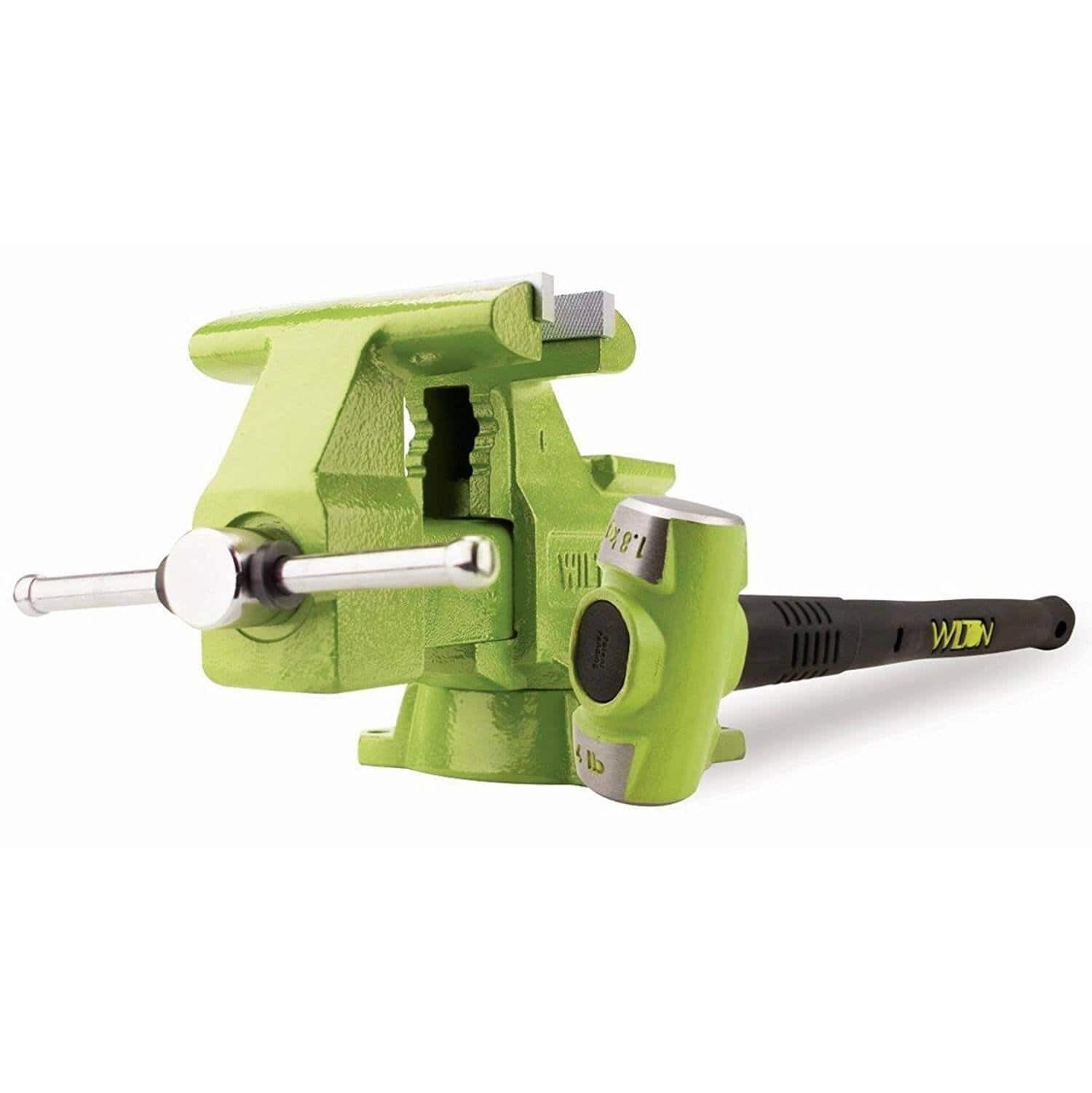 Wilton Bash 11128BH 6.5 Inch Jaw Utility Vise And 4 Pound 12 Inch Hammer Combo $119.99 + FS