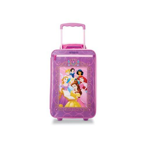 American Tourister Disney by Kids' Mickey Softside Carry-On for $29.99