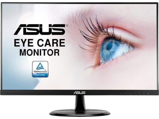"ASUS VP249HE 24"" (Actual size 23.8"") Full HD 1920 x 1080 Up to 75Hz 5ms (GTG) HDMI VGA  Monitor - $107.99 AC + $4.99 Shipping - Newegg"