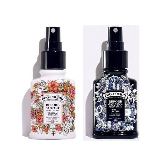 3 Pack Poo-Pourri Before-You-Go Toilet Spray, Tropical Hibiscus or Royal Flush, 2oz Each $18.99 + FS