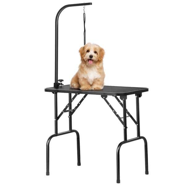 SmileMart Adjustable Pet Dog Cat Grooming Table $56 + Free Shipping
