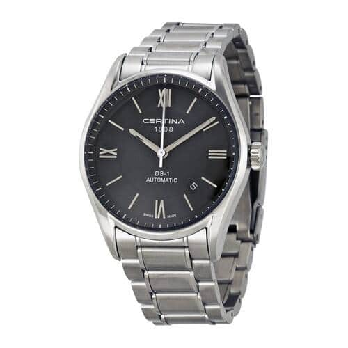 Certina DS 1 Automatic Black Dial Men's Watch - $279.99 + Free Shipping