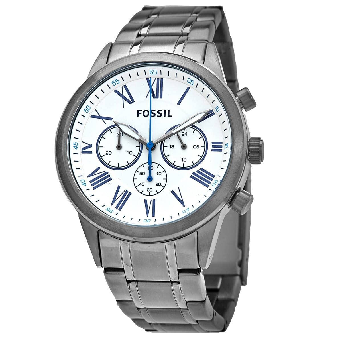Fossil Flynn Chronograph Quartz White Dial Mens Watch - $49.99 + Free Shipping