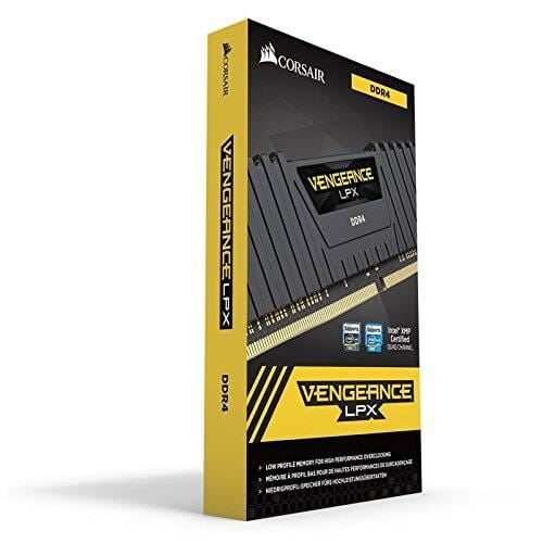 Corsair VENGEANCE® LPX 32GB (2 x 16GB) DDR4 DRAM 2400MHz C16 Memory Kit - Black - $104.99 + FS