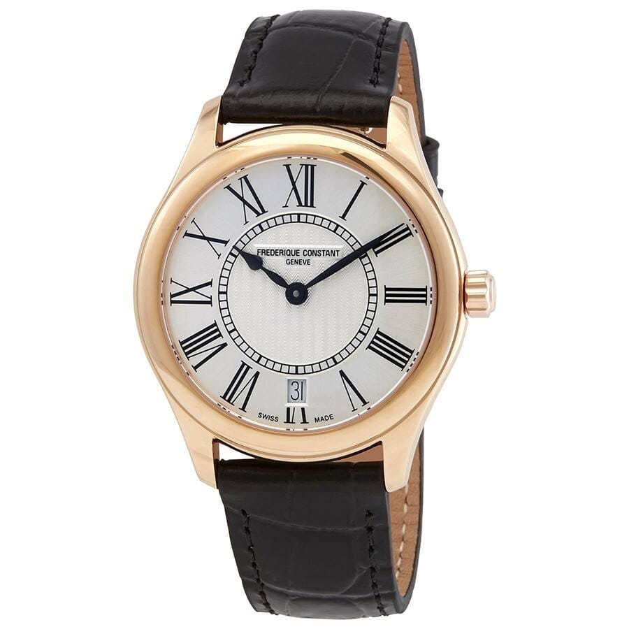 FREDERIQUE CONSTANT Classics Quartz Silver Dial Ladies Watch - $299 + Free Shipping