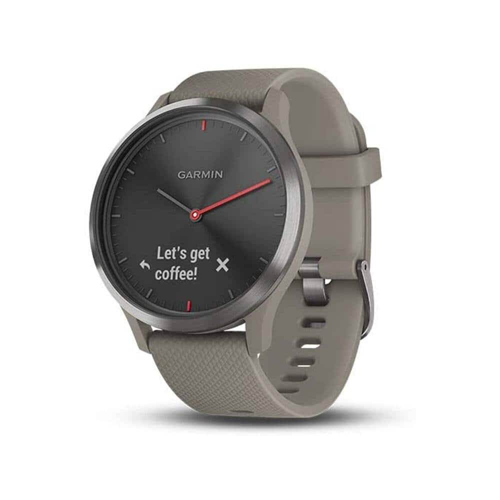 Garmin vívomove HR Hybrid Smartwatch with Touch Screen, Sandstone, Small/Med $116.99