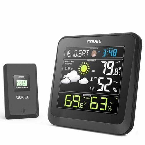 Govee Wireless Weather Station with Color LCD Display - $25.99 AC + FS