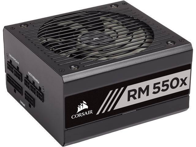CORSAIR RMx Series RM550x CP-9020177-NA 550W ATX12V / EPS12V 80 PLUS GOLD Certified Full Modular Power Supply $104.98 AR Shipped