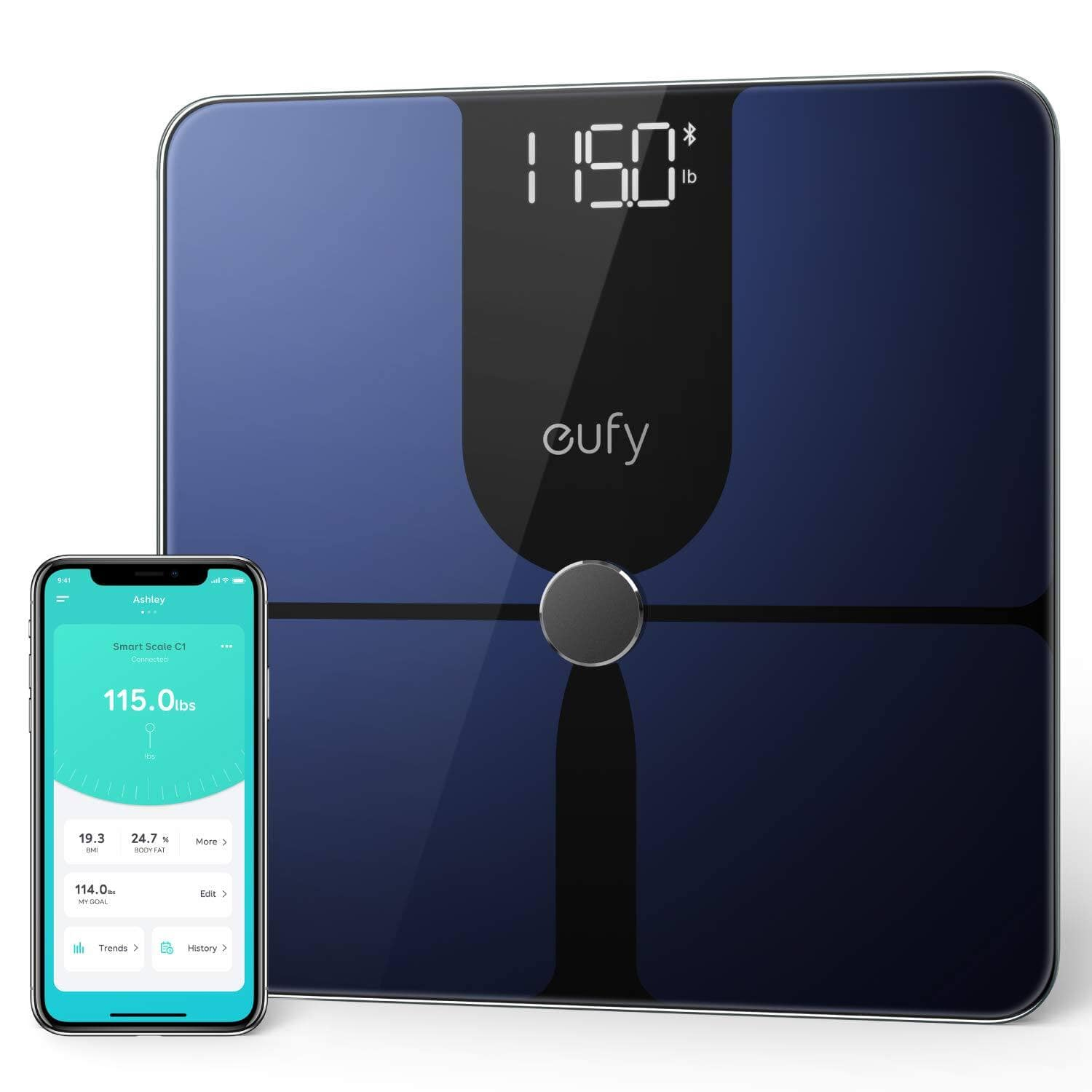 Eufy by Anker Smart Scale P1 with Bluetooth, Body Fat Scale $35.99 + FSSS