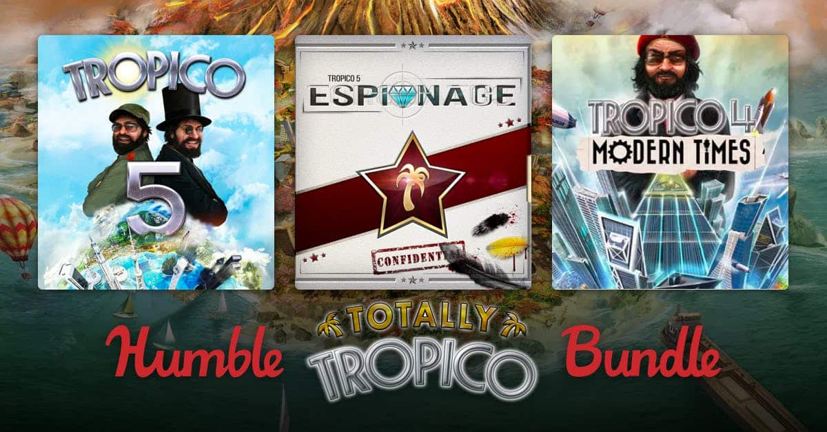 PC Digital Download: Humble Totally Tropico Bundle (PYWY)