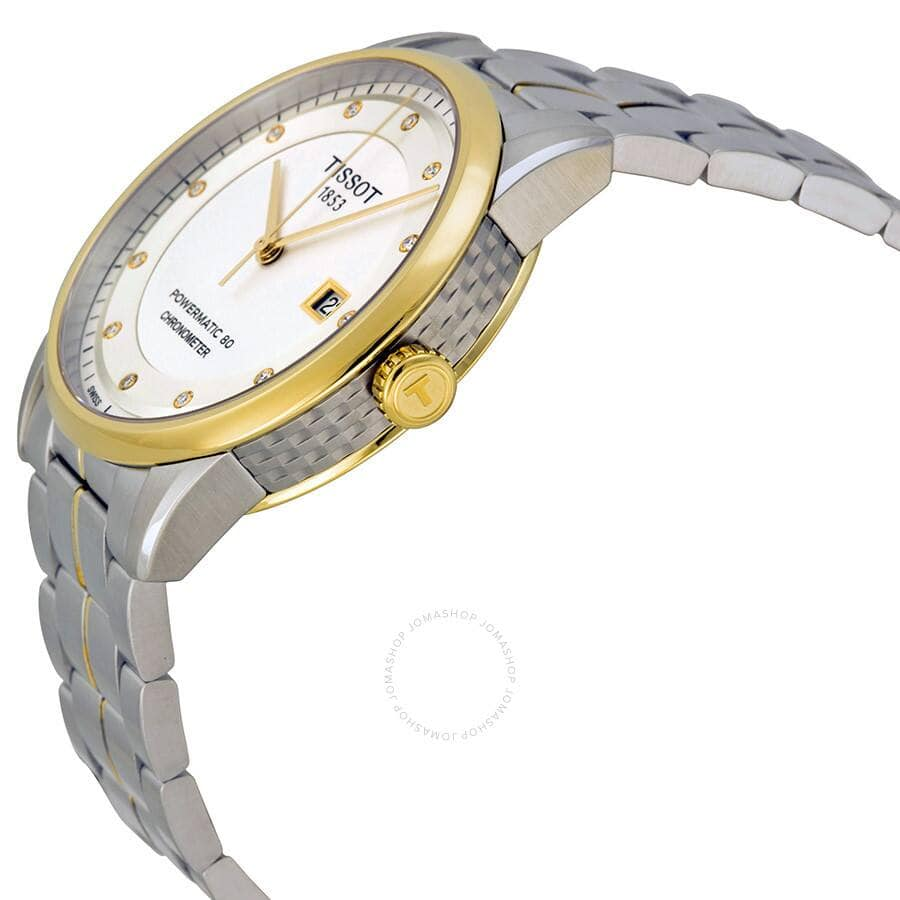 TISSOT Luxury Automatic Silver Dial Two-Tone Men's Watch - $419.99
