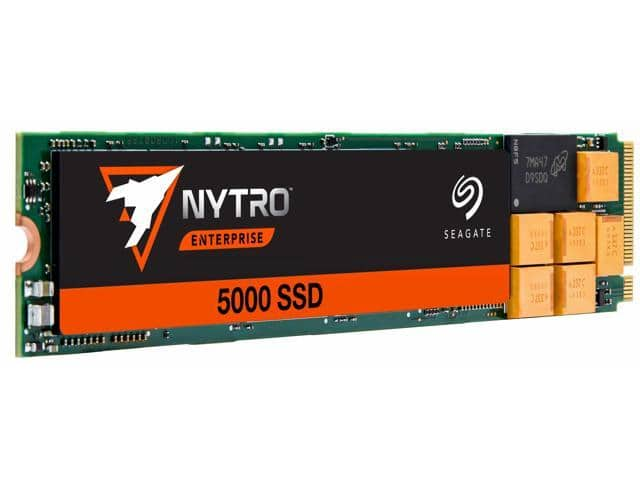 Seagate Nytro 5000 SSD 1920GB 3D cMLC PCIe Gen3 x4 NVMe 1.2a M.2 22110 Internal Data Center SSD for $199.99 + FS