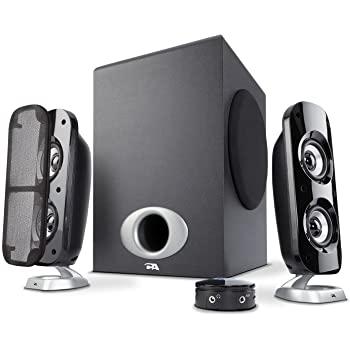 Cyber Acoustics 80W High Power 2.1 Subwoofer Speaker System $57.99 + FSSS