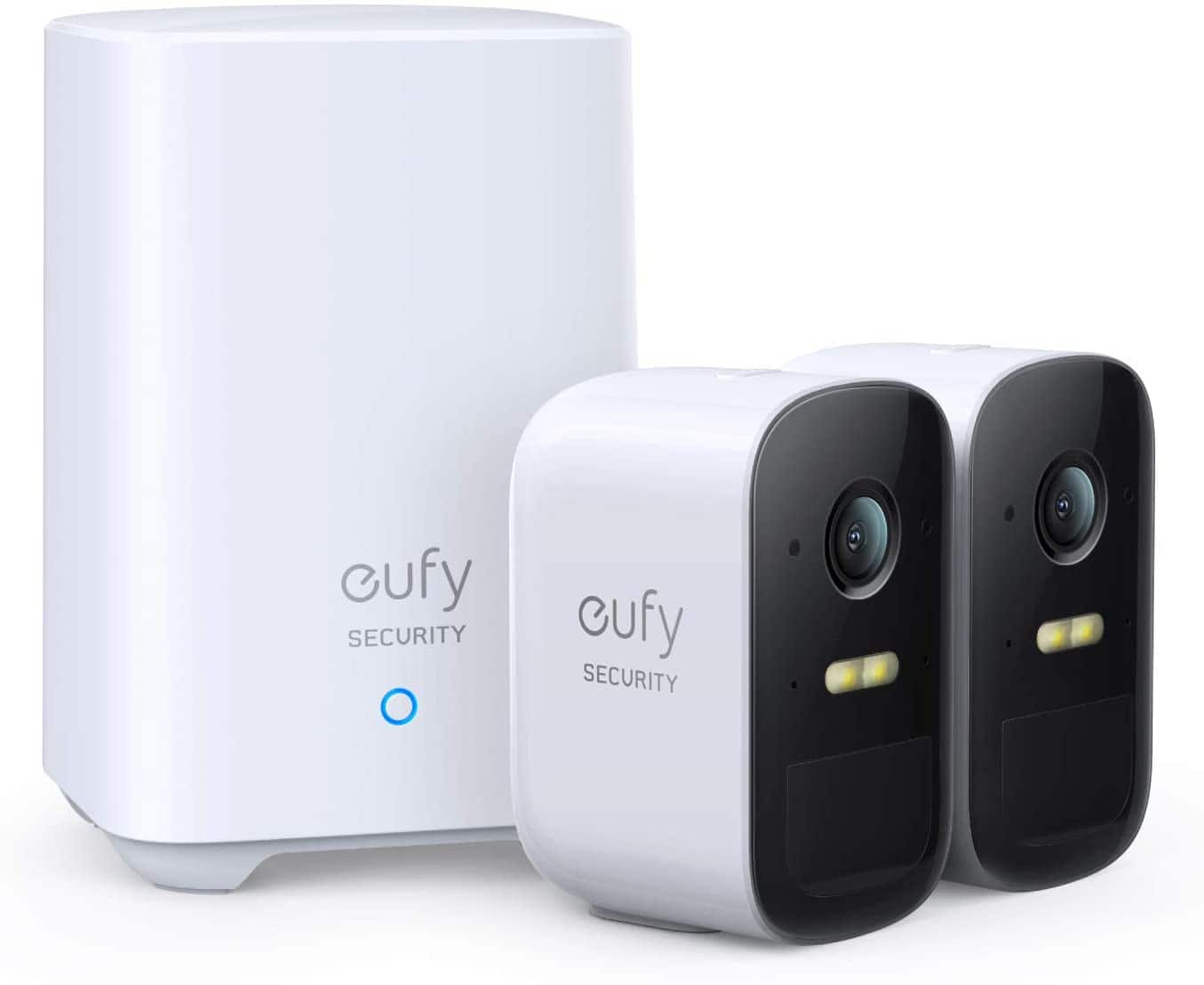 eufy eufyCam 2C Pro 2-Cam Kit, Wireless Home Security System with 2K Resolution $255.99 + FSSS