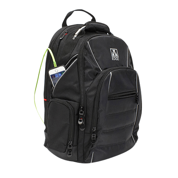 M-Edge Cargo Backpack with Removable 6000mAh Bonus Powerbank $15