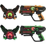 ArmoGear Infrared Laser Tag Guns and Vests Battle Game - 2 Pack $49.99 + FS