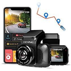 REXING V5 Dash Cam Premium 4K Modular Capabilities 3840x2160@30fps UHD WiFi GPS Car Camera Recorder Sony IMX335 Night Vision, Loop Record, Parking Monitor For $139.99 +FS