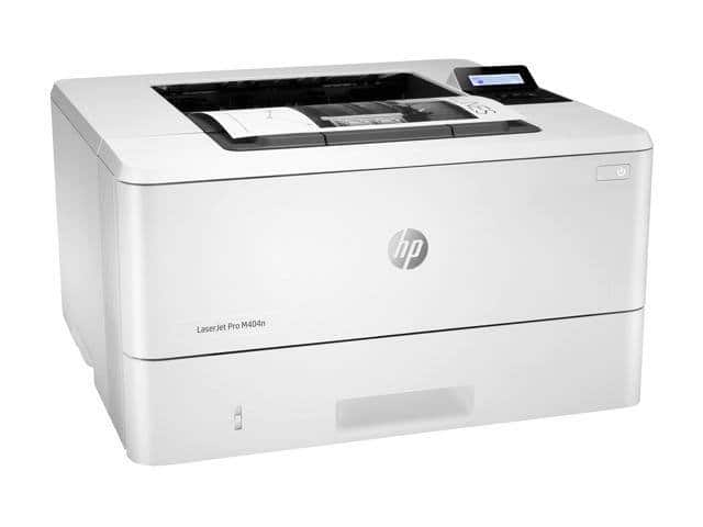 HP LaserJet Pro M404n Monochrome Laser Printer plus free gift of ASUS RT-AC1200 V2 AC1200 Dual Band WiFi Router $269