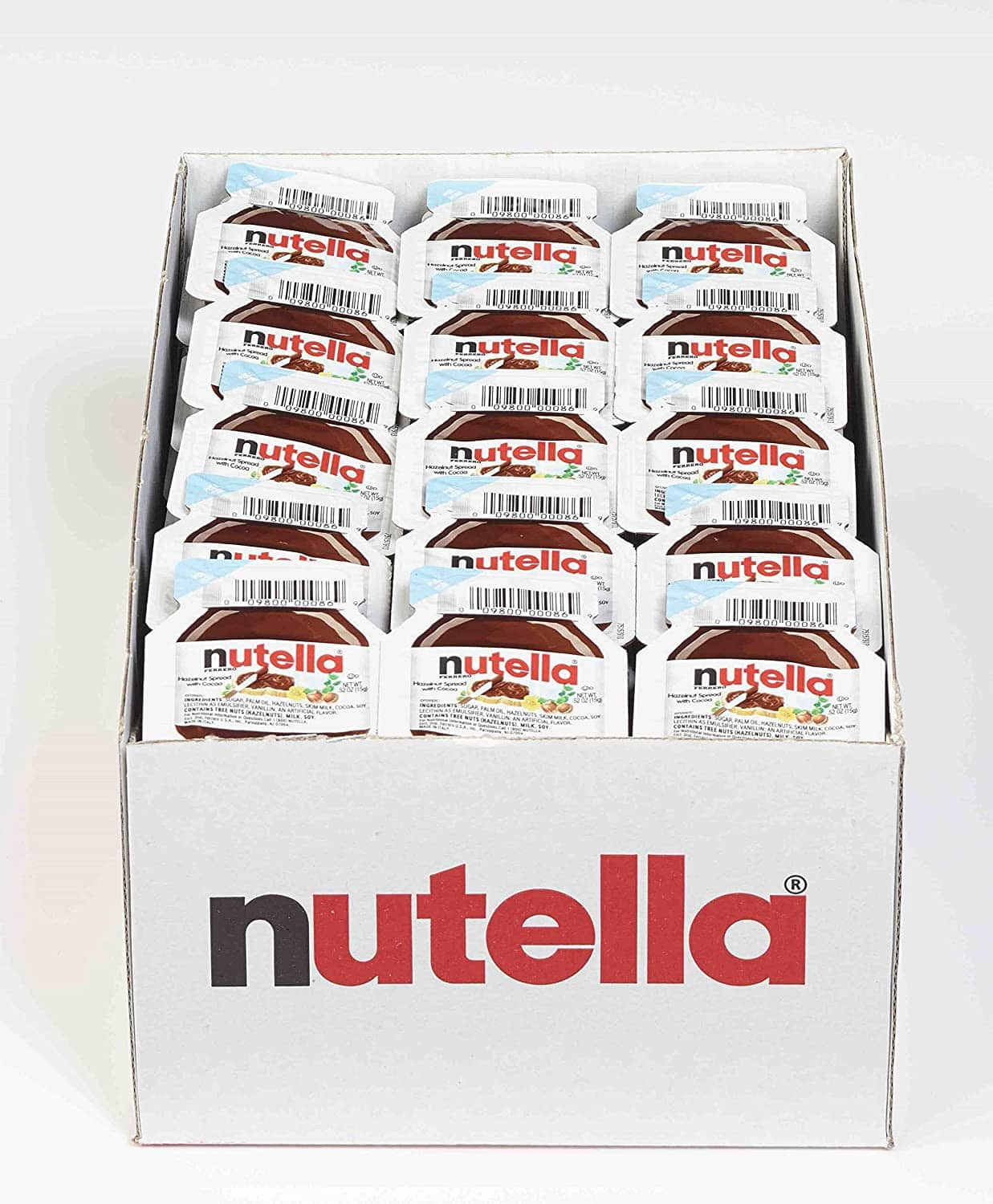 120-Count Nutella Chocolate Hazelnut Spread Mini Cups for $21.84 or less w S&S + FS