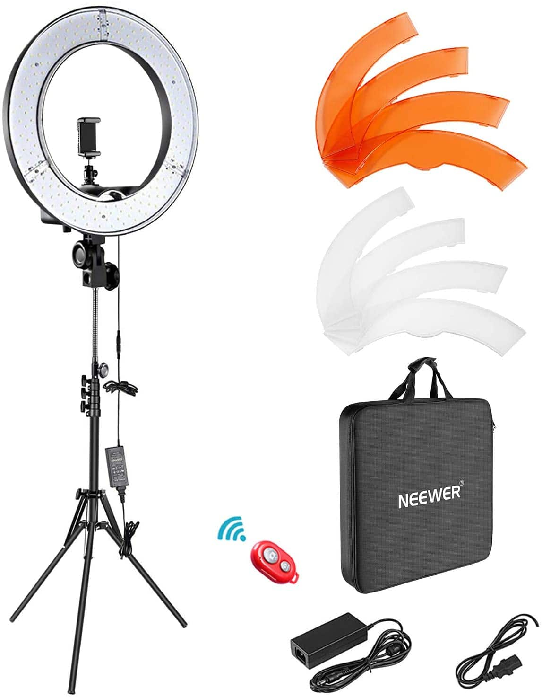 """Neewer 18"""" LED Ring Light Full Kit - $56.00 AC + FSSS"""