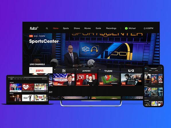 fuboTV Streaming Service: 1-Month Subscription (Orig. $64) $34.99