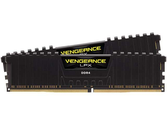 CORSAIR Vengeance LPX 64GB (2 x 32GB) 288-Pin DDR4 SDRAM DDR4 3600 (PC4 28800) Intel XMP 2.0 Desktop Memory for $229.99 + FS