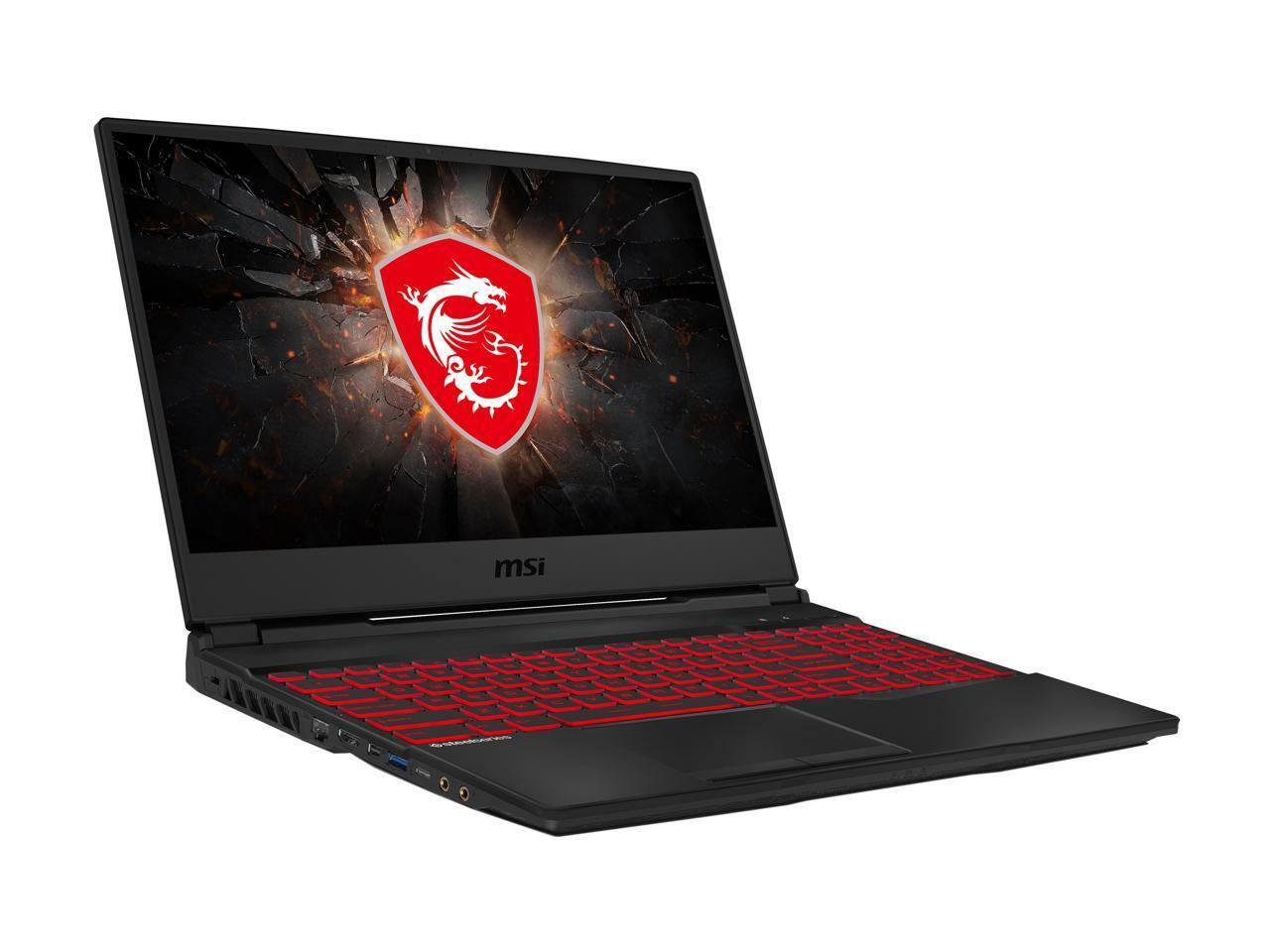 "MSI GL65 Leopard 10SCSR-070 - 15.6"" 144 Hz - Intel Core i7-10750H - GeForce GTX 1650 Ti - 8 GB Memory - 512GB SSD - Windows 10 Home - Gaming Laptop $799 AR"