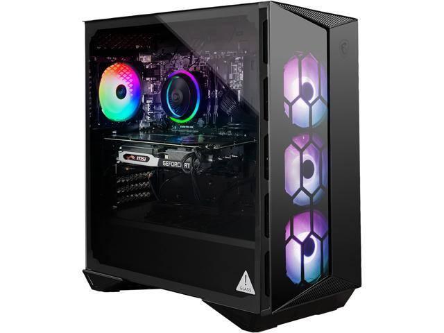 MSI Gaming Desktop Aegis R 10SC-017US Intel Core i7 10th Gen 10700F (2.90 GHz) 16GB DDR4 1 TB HDD 512GB SSD NVIDIA GeForce RTX 2060 SUPER Windows 10 for $1099 AC AR