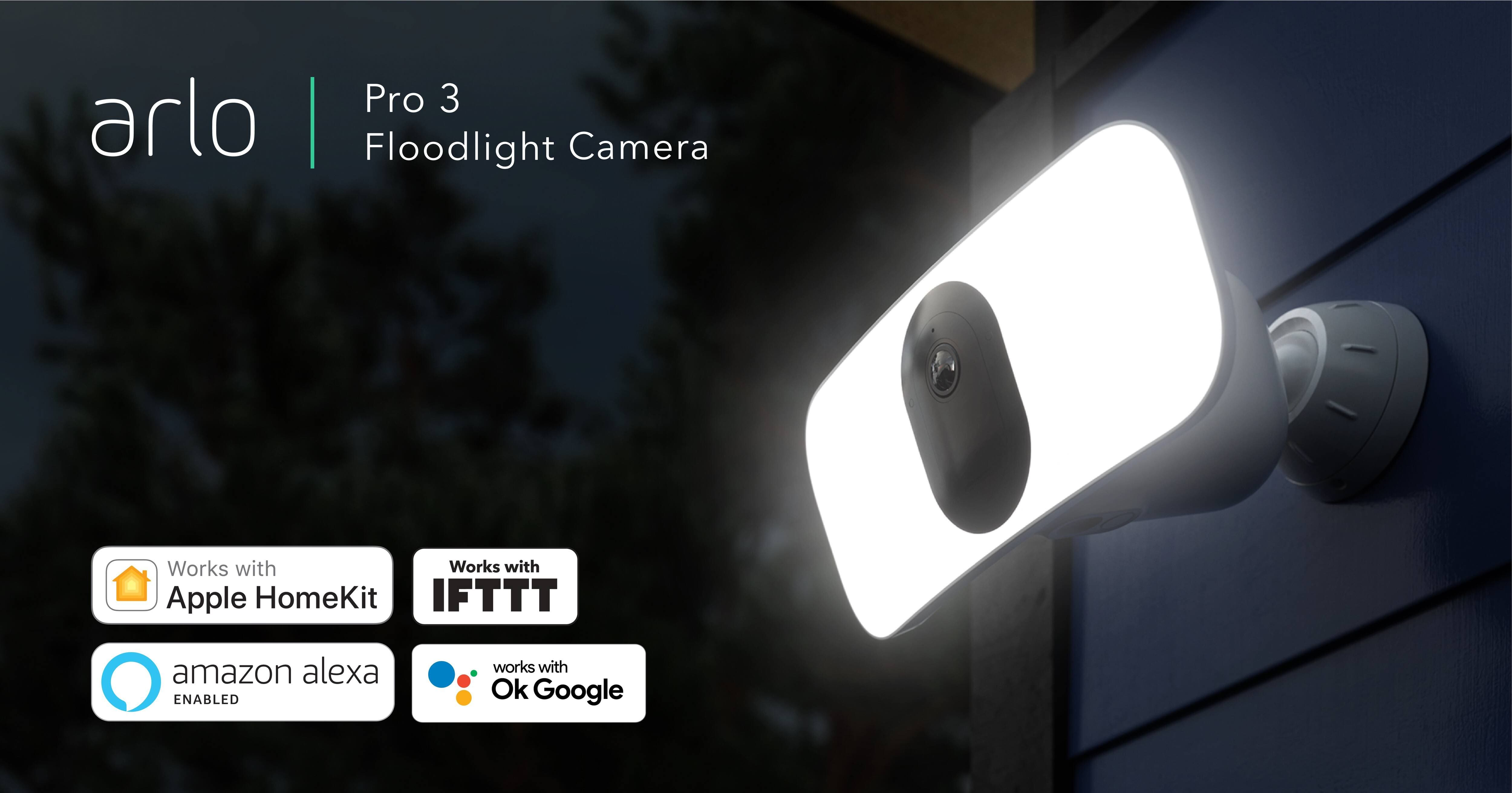 Arlo Pro 3 Indoor/Outdoor Wire-Free 2K HDR Floodlight Camera - $199.99 + Free Shipping
