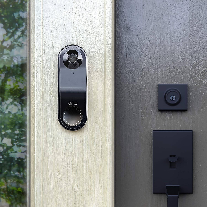 Arlo Wired Video Doorbell (Black) - $99.99 + FSSS