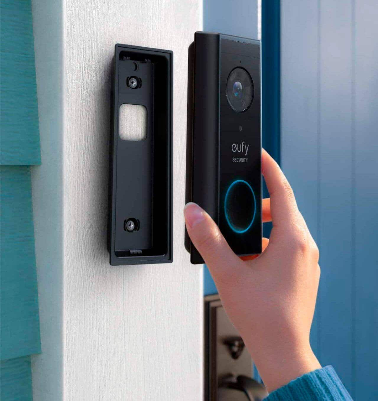 Eufy Security - Smart Wi-Fi 2K Video Doorbell (with Homebase included) $139.99 ($60 OFF)