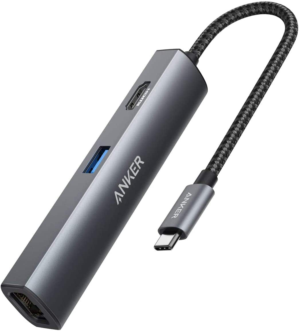 Anker PowerExpand+ 5-in-1 USB-C Hub, with 4K HDMI, 1Gbps Ethernet, 5Gbps Data Transfer $24.99 + FSSS