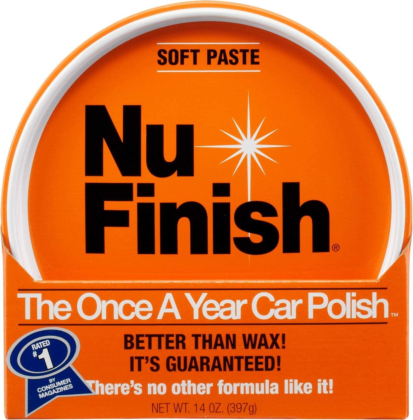 Nu Finish Car Soft Paste (14oz) $1.95