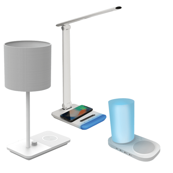 Your Choice of iHome Wireless Charging Lamps $30