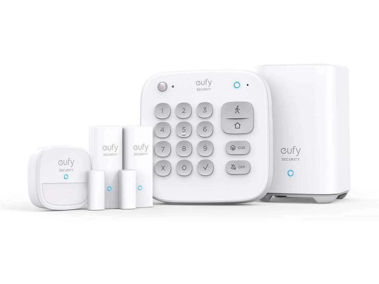 eufy Security 5-Piece Home Alarm Kit / Home Security System - $119.99 AC + FS