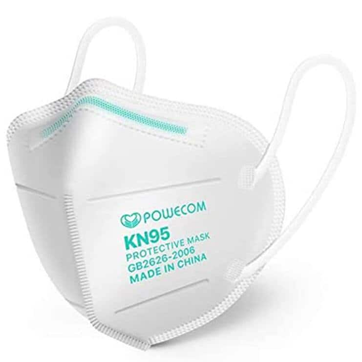 FDA Authorized Powecom KN95 Face Mask - 10 Pack For $9.75 + Free Shipping