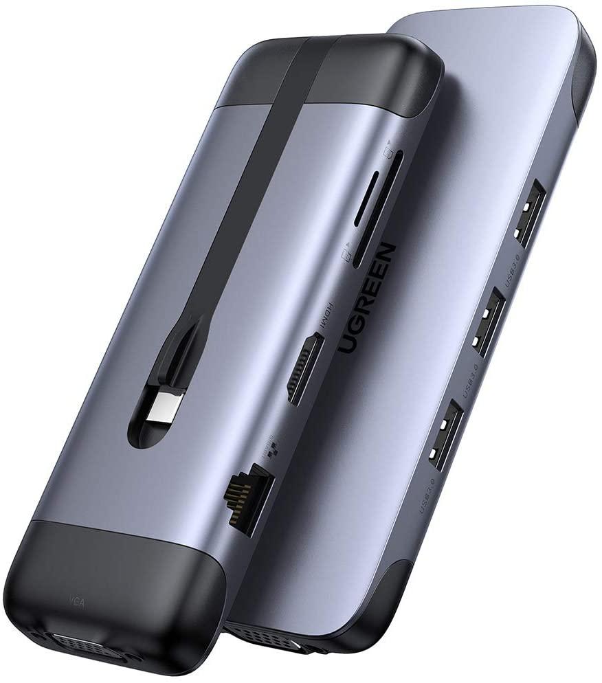 UGREEN USB C Hub 9 in 1 USB Type C HDMI Multiport Adapter Dock $39.60