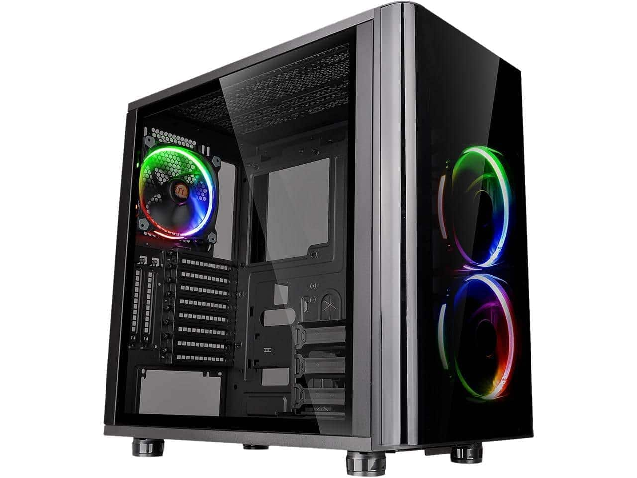 Thermaltake CA-1H8-00M1WN-01 View 31 RGB ATX Black Gaming Mid Tower Computer Case - $74.99 (after $35 Mail-in Rebate) + Free Shipping