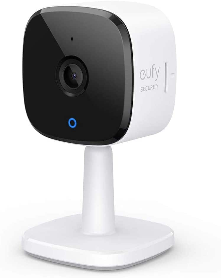 eufy Security 2K Indoor Cam, Plug-in Security Indoor Camera with Wi-Fi $33.99 + FSSS