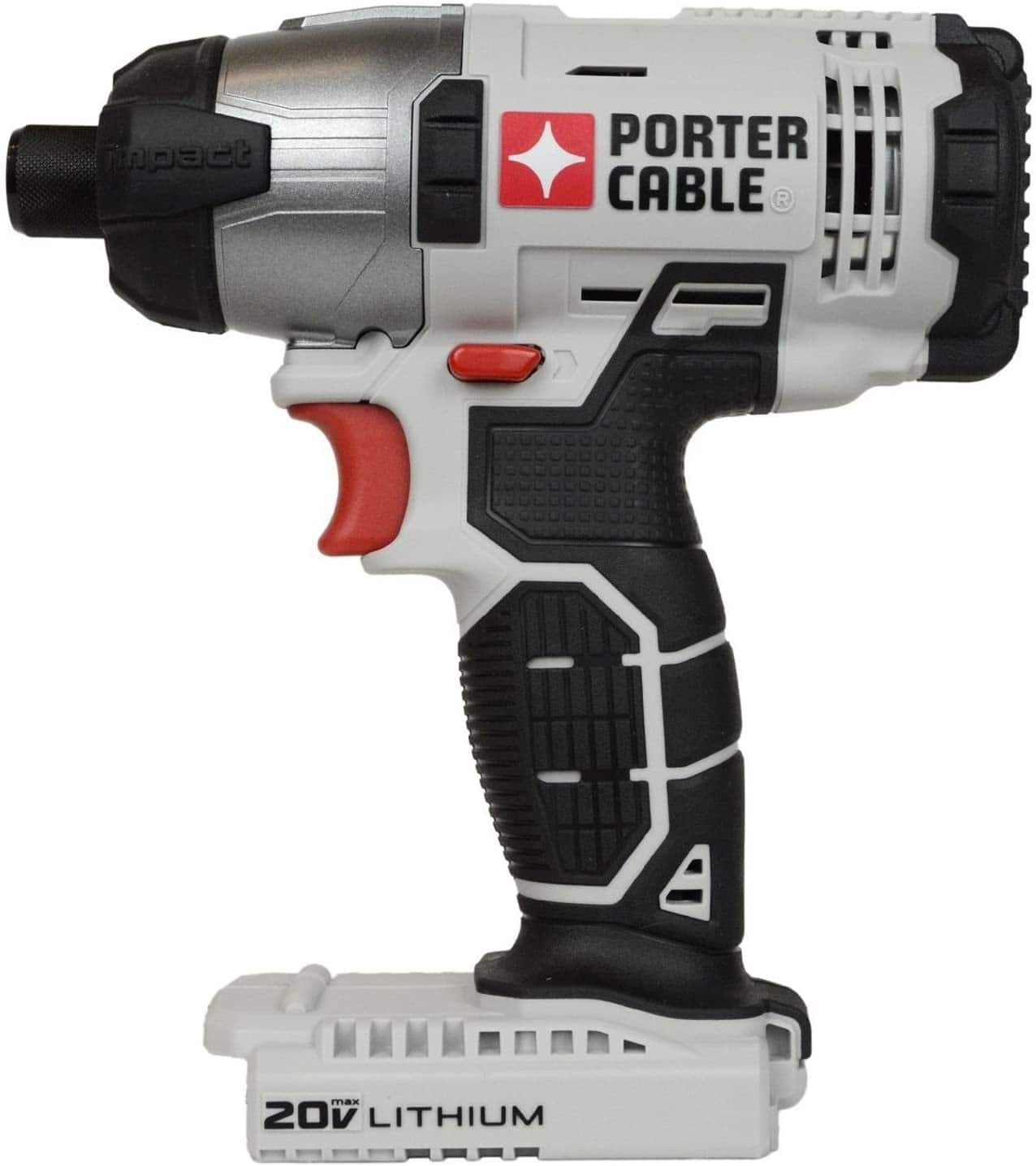 "Porter Cable 20-Volt 1/4"" Cordless Variable Speed Impact Driver with Socket Adapters $71.95 + Free Store Pickup"