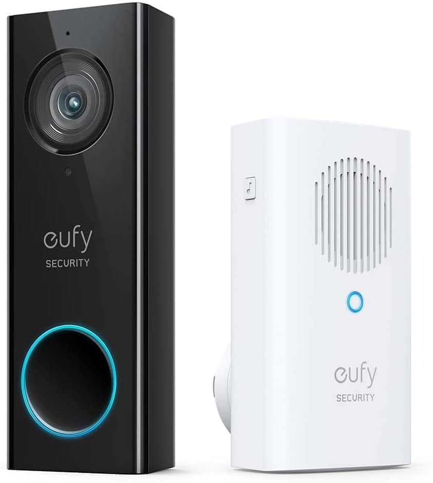 eufy Security, Wi-Fi Video Doorbell, 2K Resolution $119.99 + FSSS