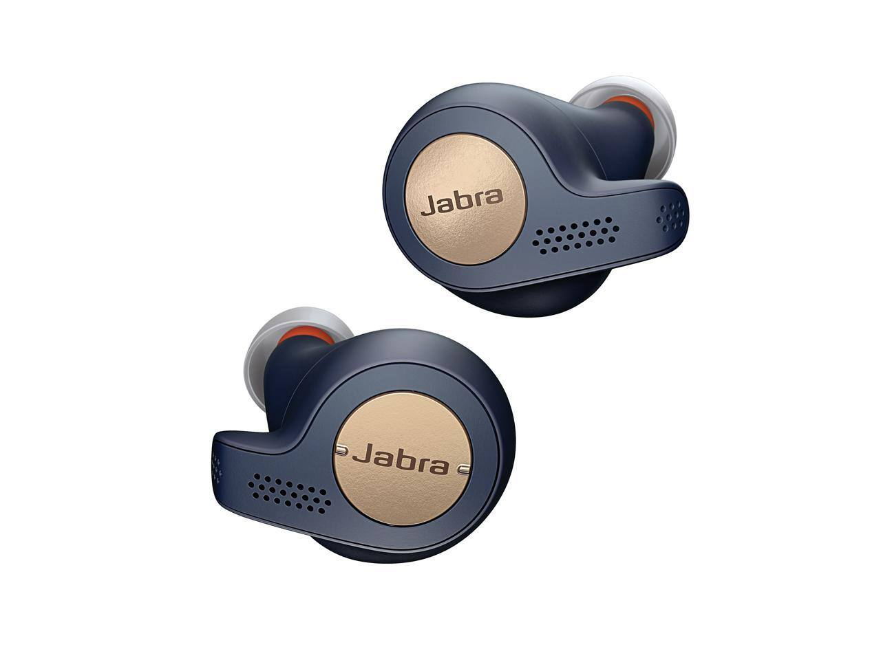Jabra Elite Active 65t - Copper Blue Manufacturer True Wireless Sport Earbuds (refurbished) for $38 + FS