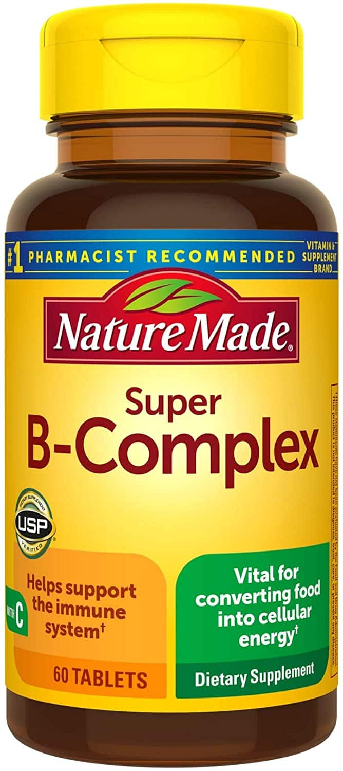 60-Count Nature Made Super B-Complex Tablets $2.21 w/ S&S + FS