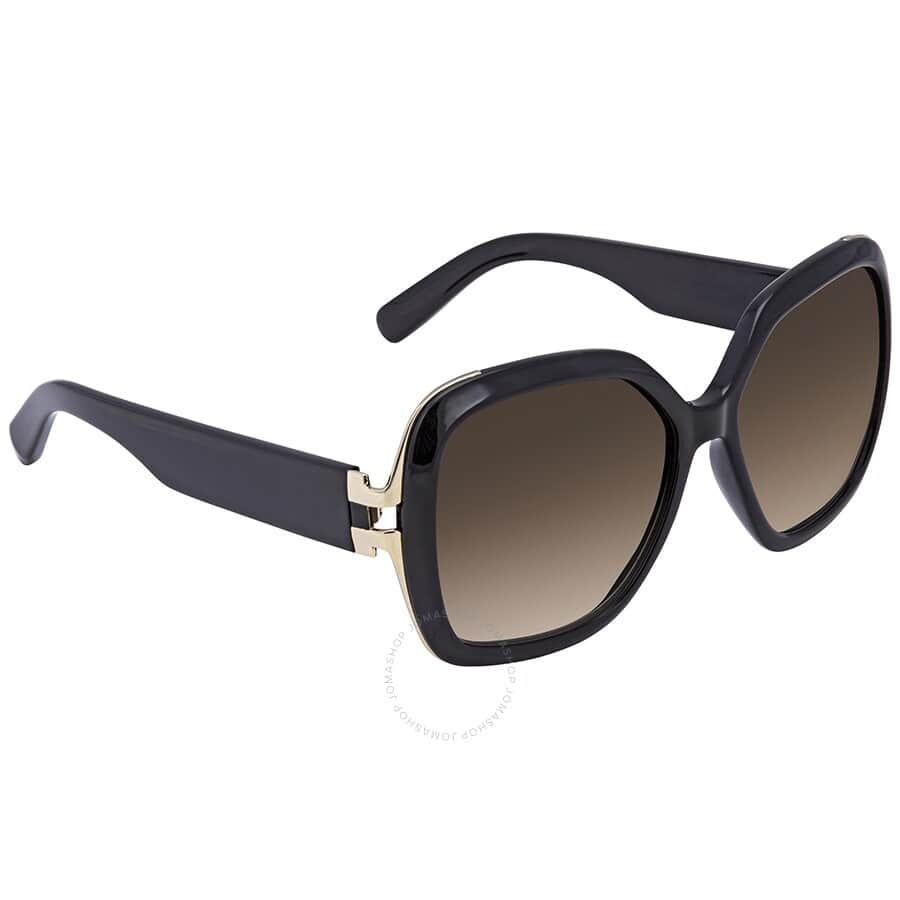 SALVATORE FERRAGAMO Brown Gradient Square Sunglasses - $54.99 Shipped