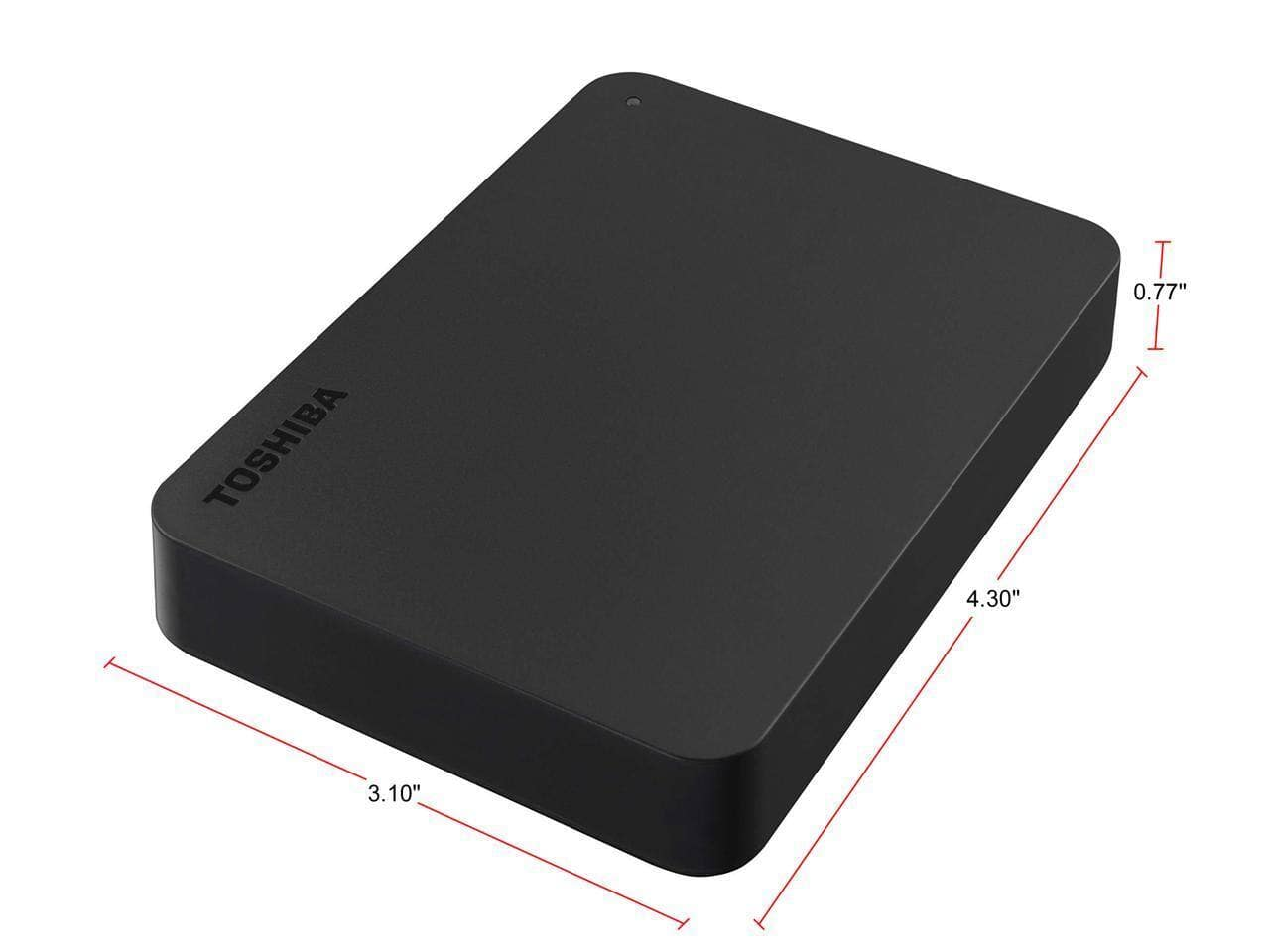 Toshiba Canvio Basics Portable External USB 3.0 Hard Drive | 1TB for $39.99, 2TB for $51.99, 4TB for $79.99 + Free Shipping