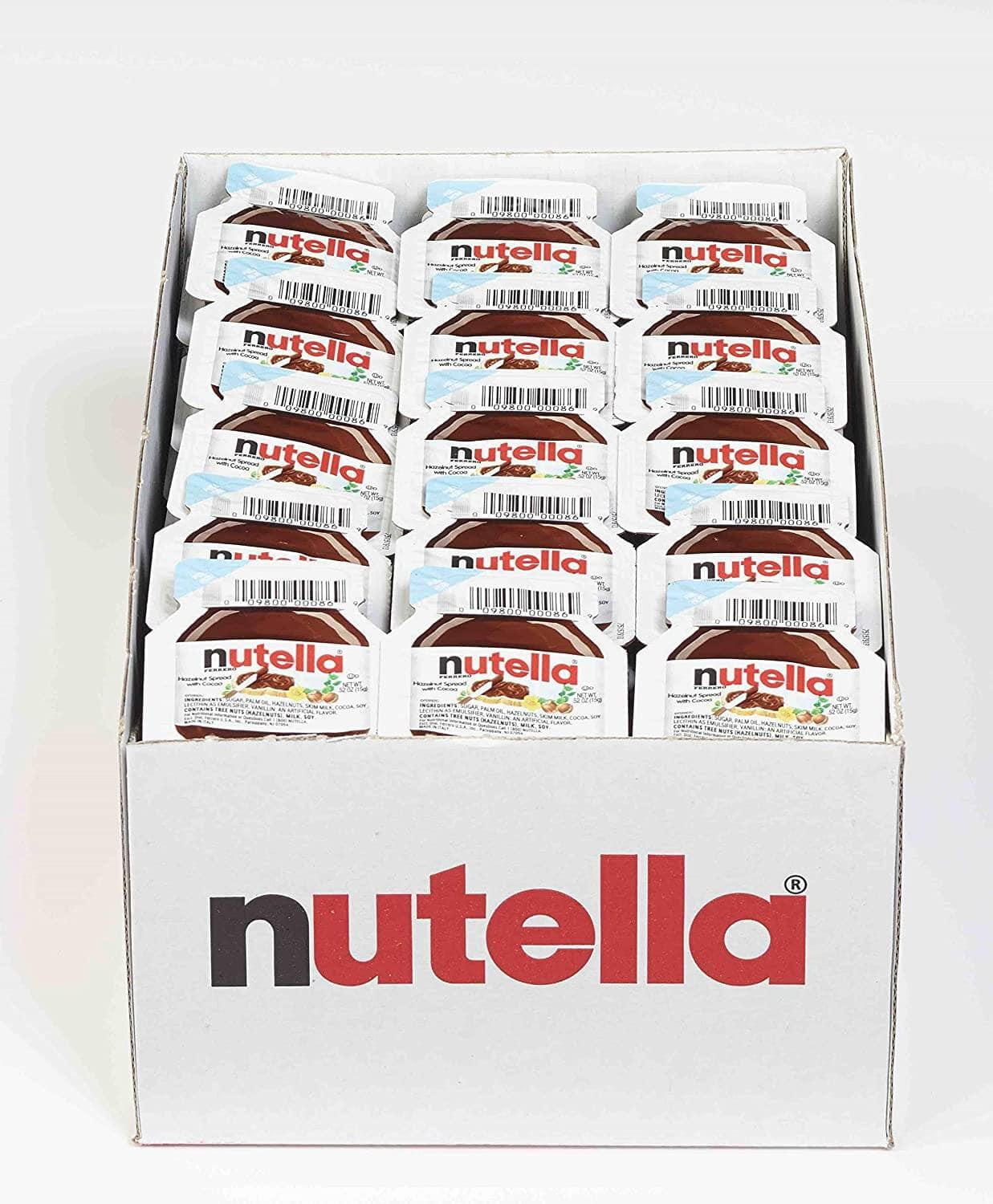 120-Count Nutella Chocolate Hazelnut Spread Mini Cups for $22 or less w S&S + FS