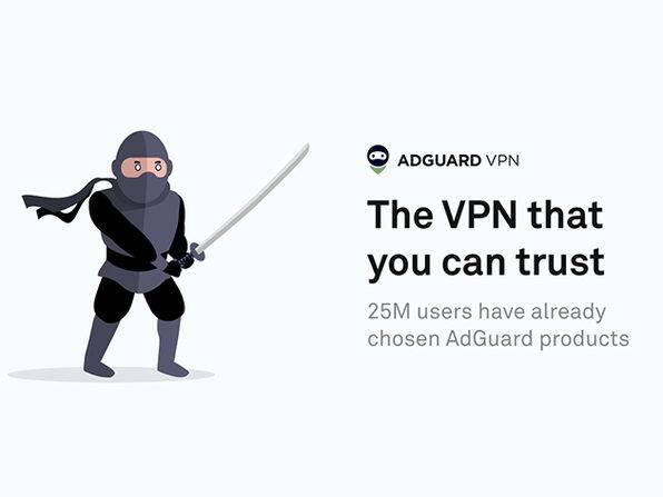 AdGuard VPN: 1-Yr Subscription $16