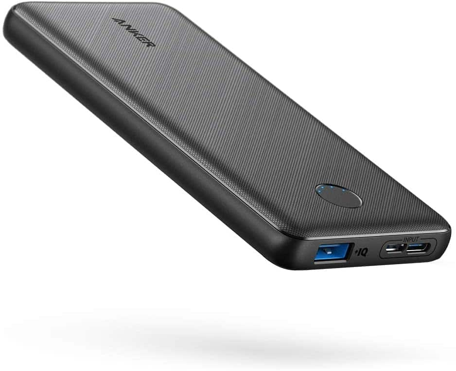 Anker Portable Charger, PowerCore Slim 10000 Power Bank $13.99 AC + FSSS
